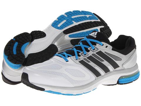 adidas Running - Supernova Sequence 6 (Running White/Black/Solar Blue) Men's Running Shoes