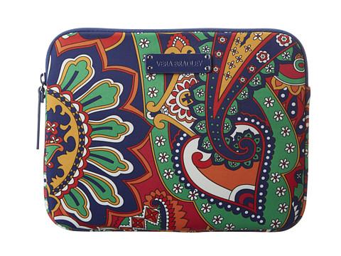 Vera Bradley Neoprene Tablet Sleeve (Venetian Paisley) Computer Bags