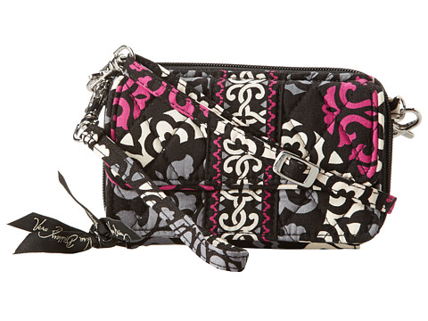 Vera Bradley - All In One Crossbody (Canterberry Magenta) Cross Body Handbags