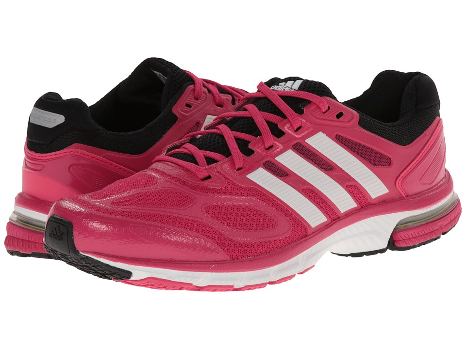 adidas Running - Supernova Sequence 6 W (Bahia Pink/Running White/Black) Women's Running Shoes