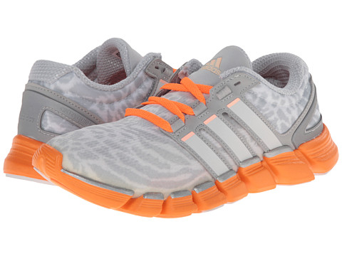 adidas Running - Adipure Crazy Quick (Clear Grey/Pearl Metallic/Tech Grey) Women