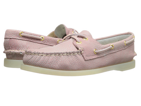 Sperry Top-Sider - A/O 2 Eye (Blush/Clear) Women's Slip on Shoes