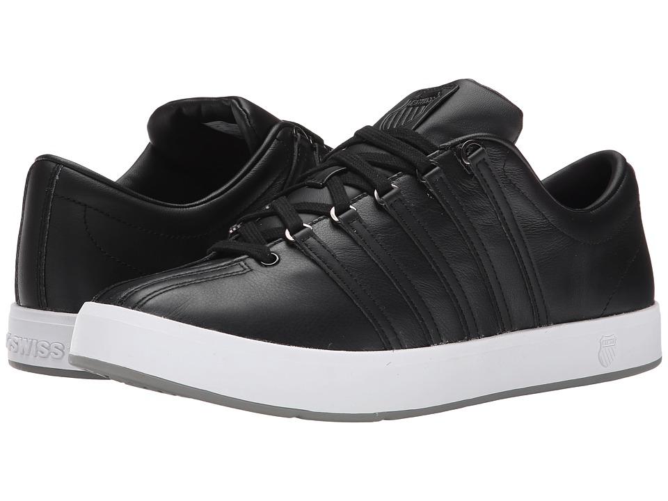 K-Swiss - The Classic II (Black/Stingray) Men's Tennis Shoes