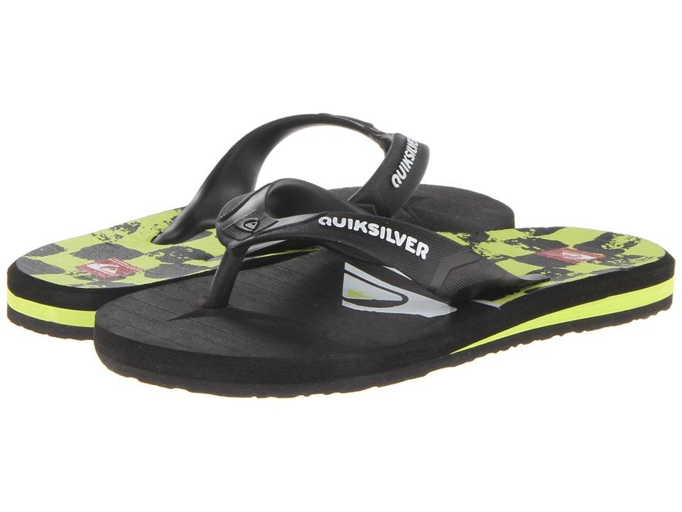 Quiksilver Kids Carver 4 Boys Shoes (Black)