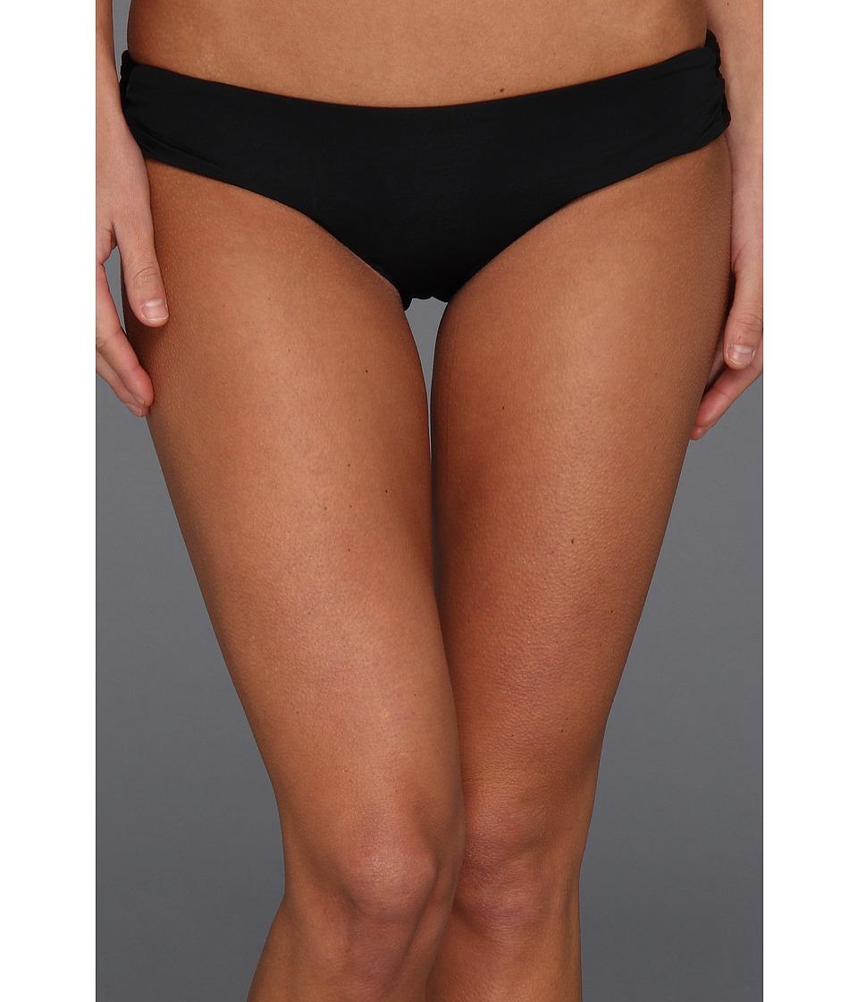 L*Space - Lacy Classic Bottom (Black) Women's Swimwear