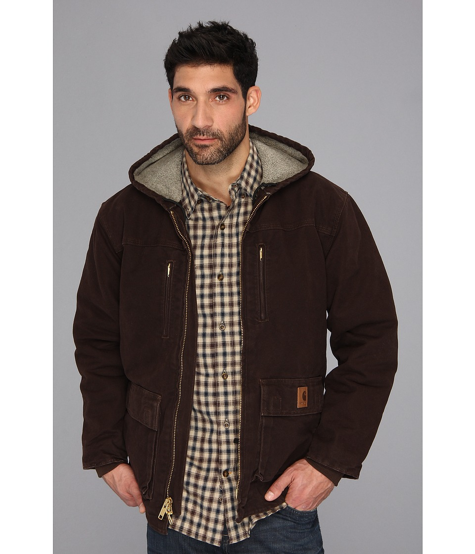 Carhartt - Sandstone Jackson Coat - Tall (Dark Brown) Men's Coat