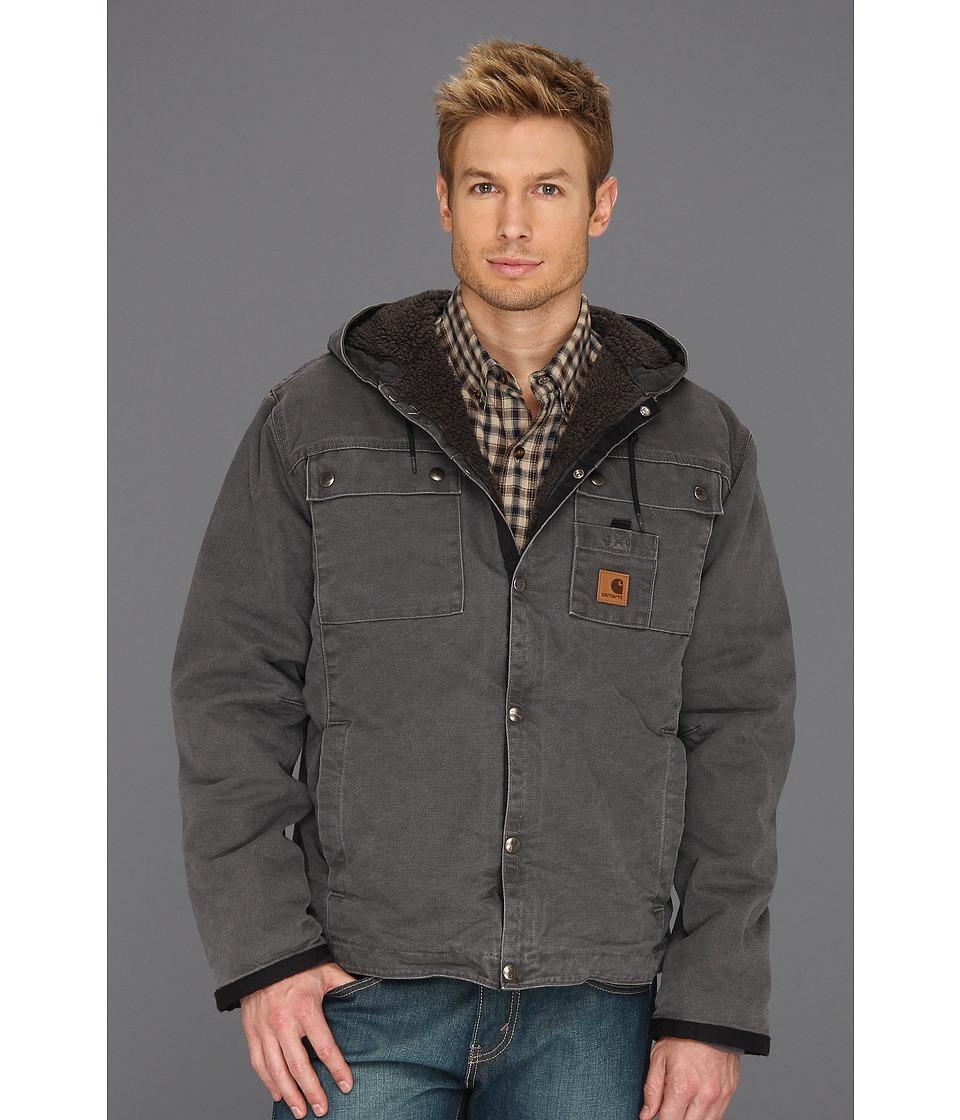 Carhartt - Sandstone Hooded Multi Pocket Jacket (Gravel) Men