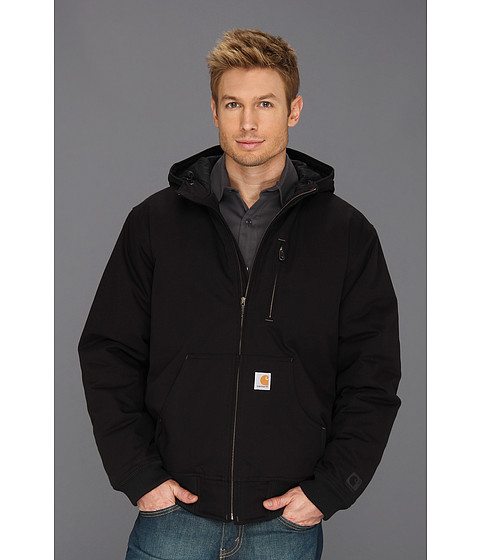 Carhartt - Quick Duck Woodward Active Jacket (Black) Men's Coat