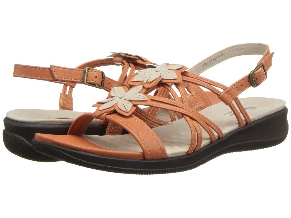 SoftWalk - Tobago (Orange/Nude) Women's Shoes