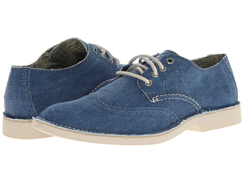 Sperry Top-Sider - The Harbor Wingtip (Navy Canvas) Men