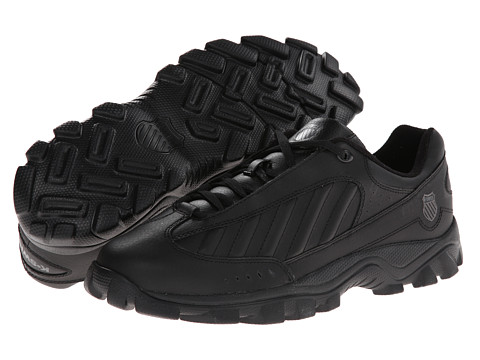 K-Swiss - ST429 (Black/Black/Charcoal) Men