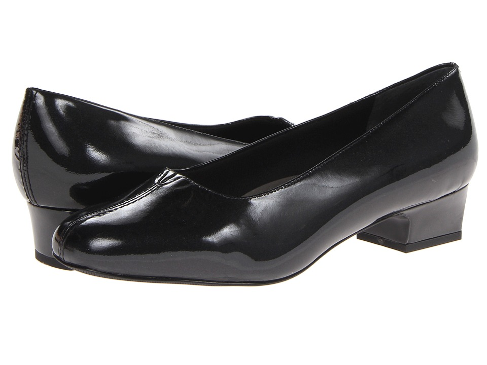 Trotters - Doris Pearl (Black Pearlized Patent Leather) Women's 1-2 inch heel Shoes
