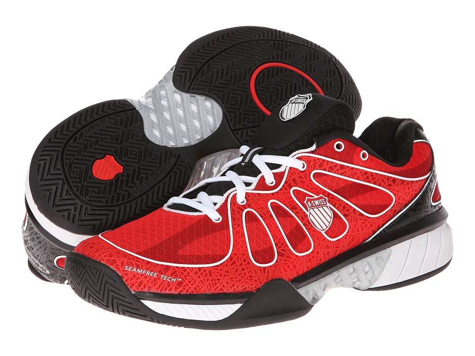 K-Swiss - Ultra Express (Fiery Red/Black/White) Men's Tennis Shoes