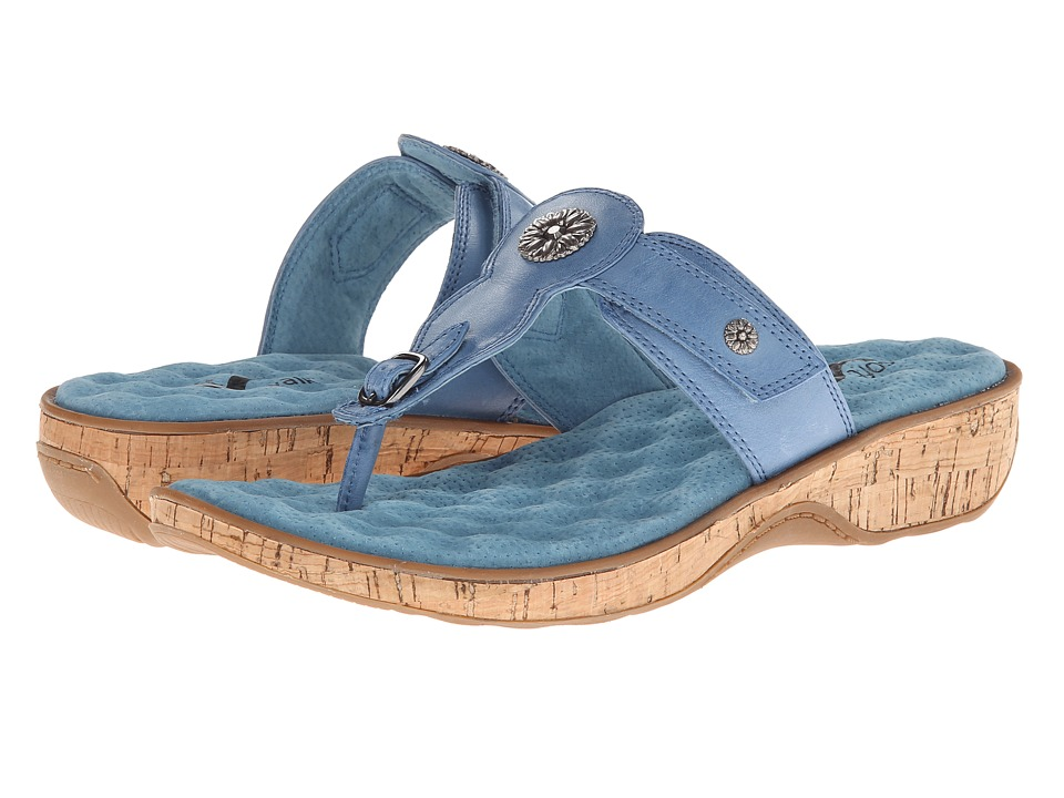 SoftWalk - Boulder (Dusty Blue) Women's Shoes