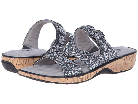 SoftWalk - Bal Harbour (Grey/Silver) Women's Shoes