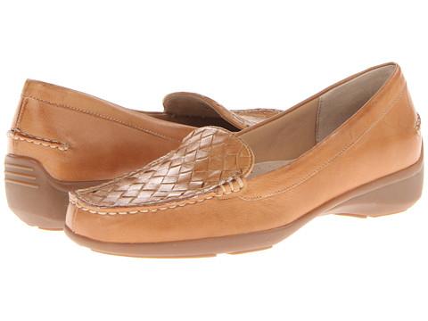 Trotters - Zane Woven - Zenith Bottom (Tan Soft Nappa Leather) Women