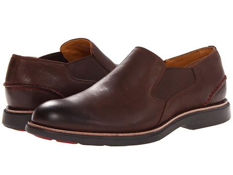 Sperry Top-Sider - Gold Bellingham Slip-On w/ ASV (Brown) Men's Slip on Shoes