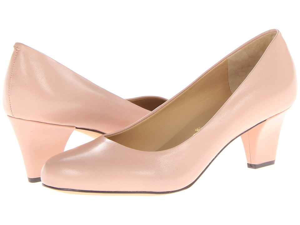 Trotters - Penelope (Blush Glazed Kid Leather) High Heels