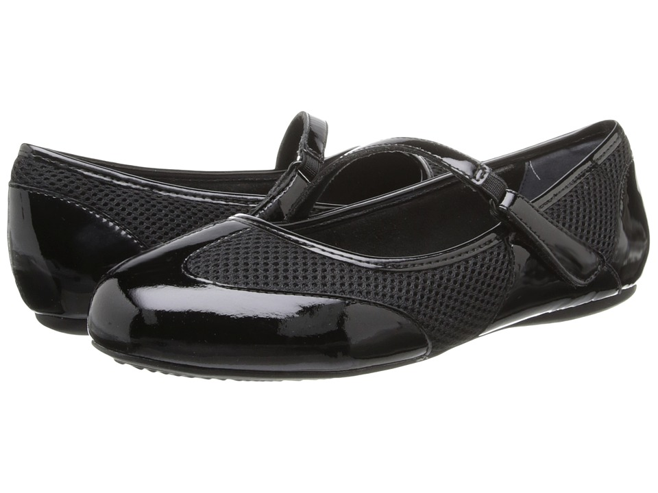 SoftWalk - Nadia (Black Patent) Women