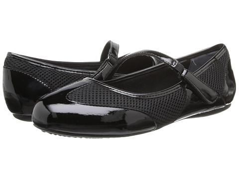 SoftWalk - Nadia (Black Patent) Women's Flat Shoes