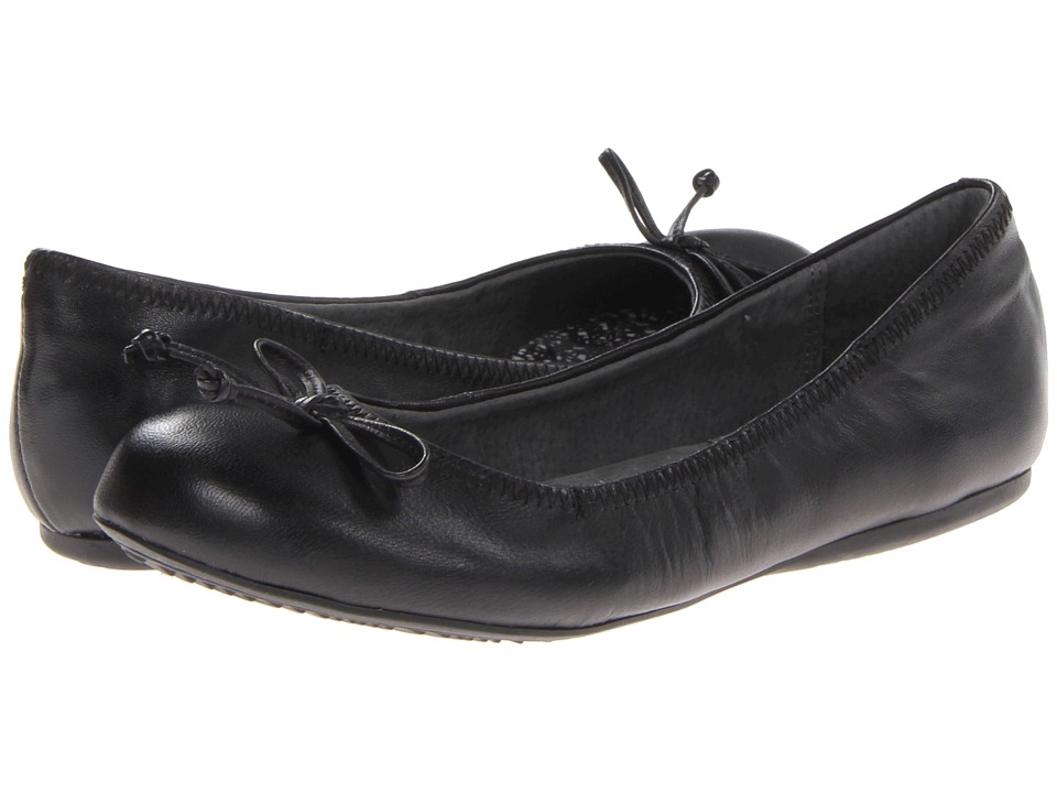 SoftWalk - Narina (Black Leather) Women