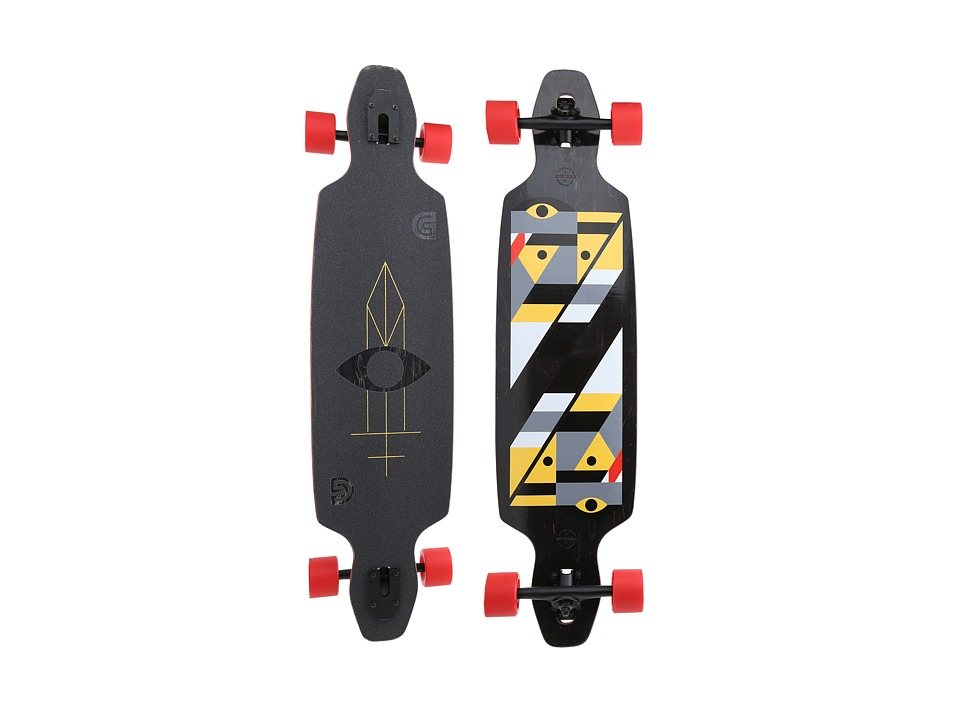 Gold Coast - Serpentagram (Black) Skateboards Sports Equipment