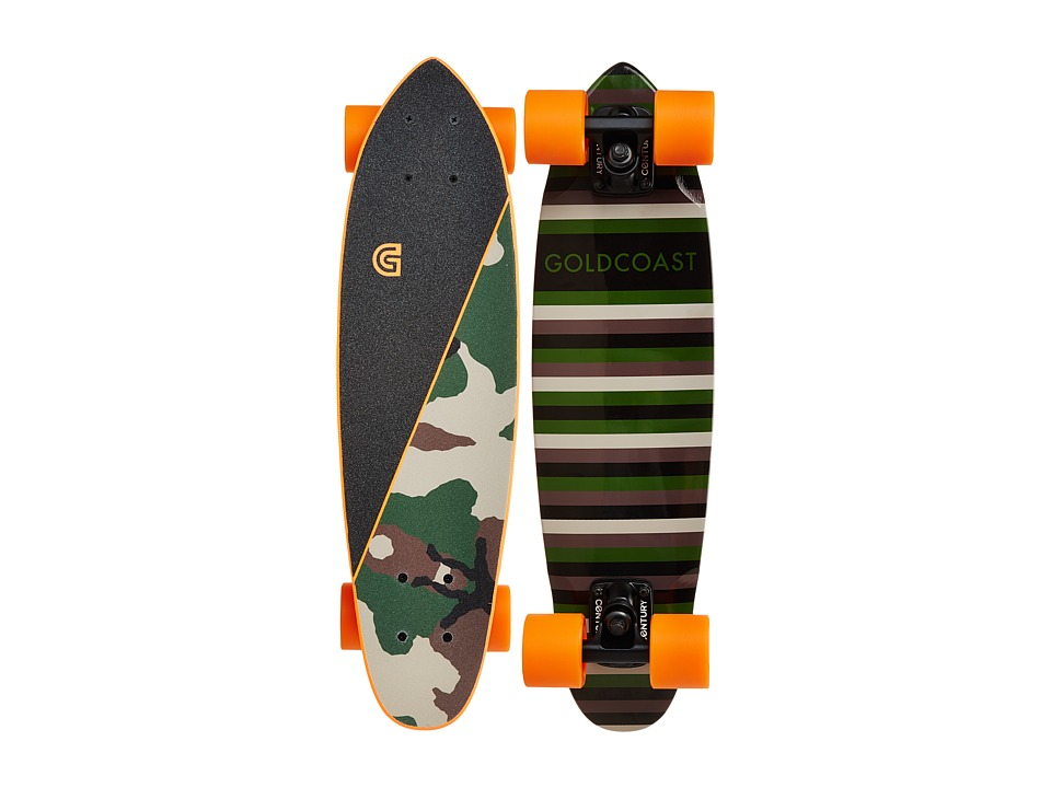 Gold Coast - The Conflict (Camo) Skateboards Sports Equipment