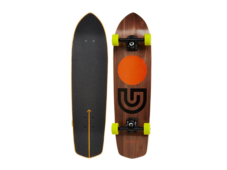 Gold Coast - Slapstick (Walnut) Skateboards Sports Equipment