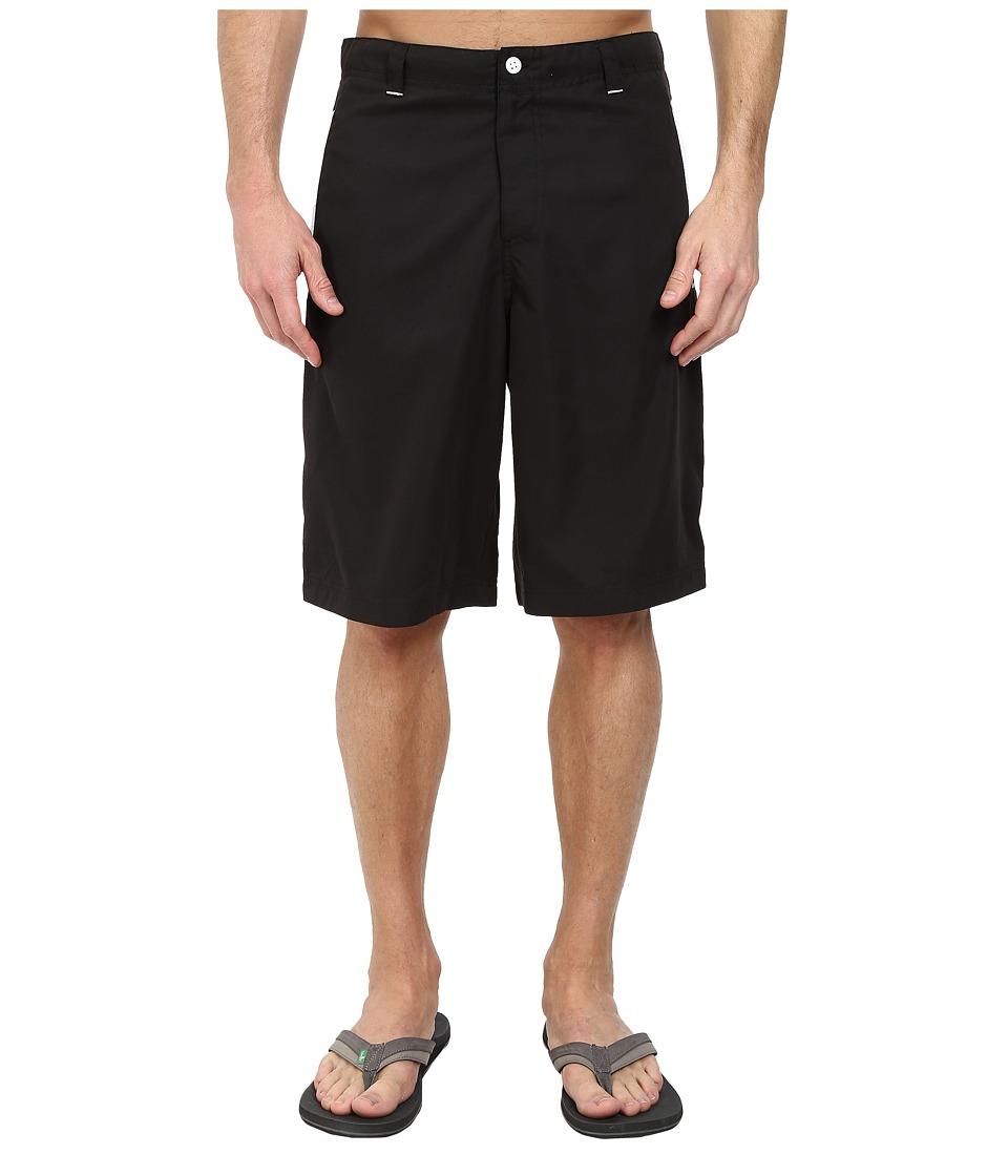 PUMA - 12 Woven Bermuda Short (Black) Men's Shorts