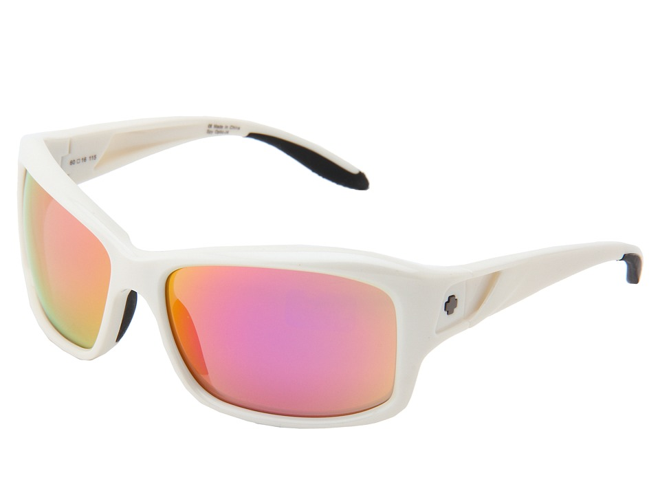 Spy Optic - Libra (White Pearl/Bronze w/ Pink Spectra) Sport Sunglasses