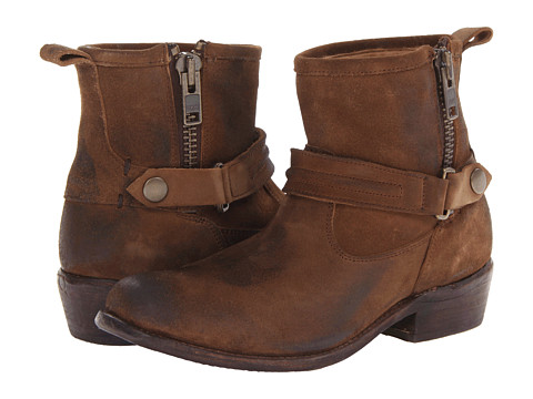 Bed Stu - Double (Camel Suede) Women's Dress Boots