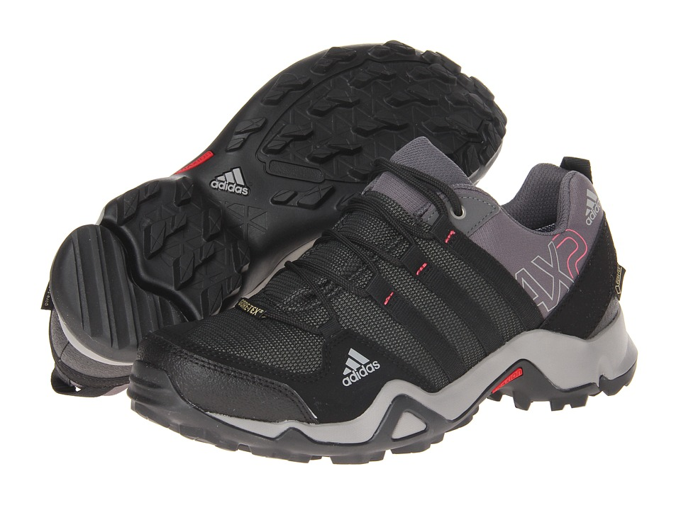 adidas Outdoor - AX 2 GTX W (Carbon/Black/Bahia Pink) Women's Shoes