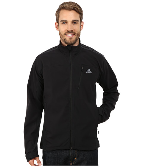 adidas Outdoor - Terrex Swift Softshell Jacket (Black) Men's Jacket