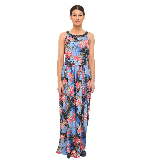 LOVE Moschino - Printed Maxi Dress (Multiflowered Print) Women