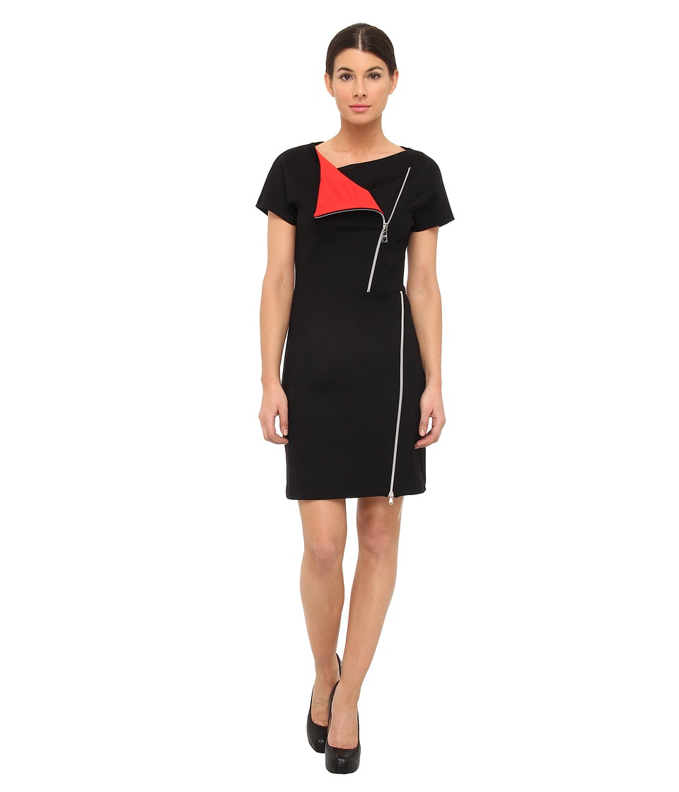 LOVE Moschino Color Block Zip Dress Womens Dress (Multi)