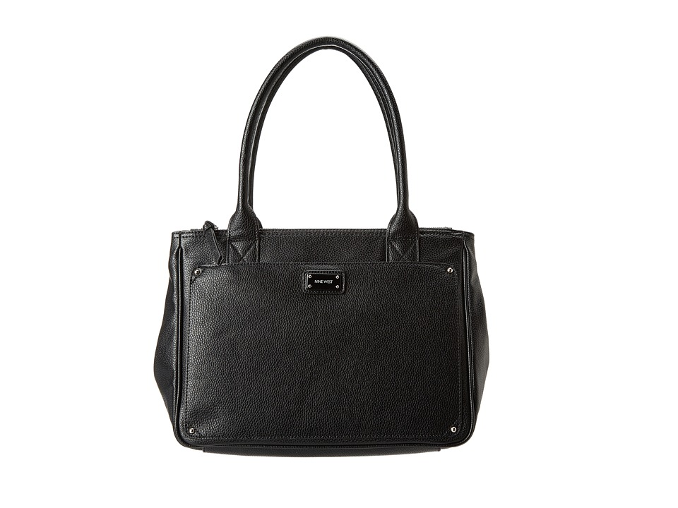 Nine West - Double Vision Large Shopper (Black) Handbags
