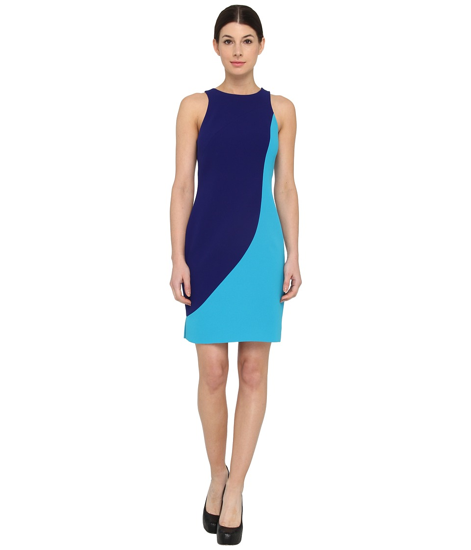 Rachel Roy - Sculpted Dress (Turkish Sea) Women's Dress