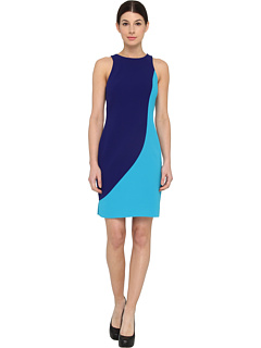 SALE! $199.99 - Save $198 on Rachel Roy Sculpted Dress (Turkish Sea) Apparel - 49.75% OFF $398.00