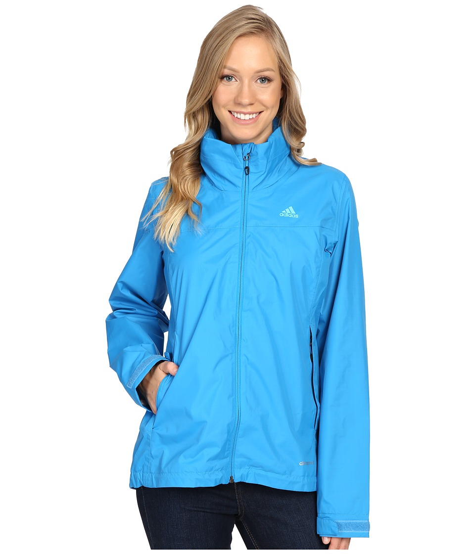 adidas Outdoor - Hiking Wandertag Jacket (Solar Blue) Women's Coat