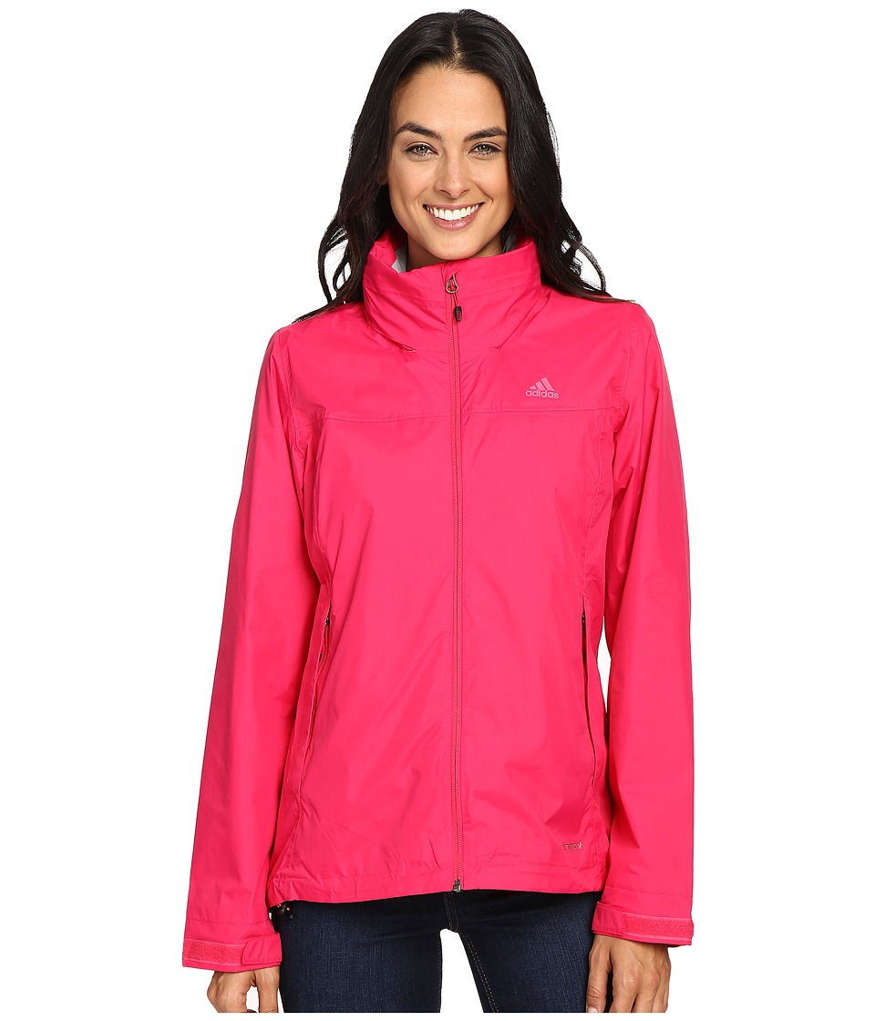 adidas Outdoor - Hiking Wandertag Jacket (Vivid Berry) Women's Coat