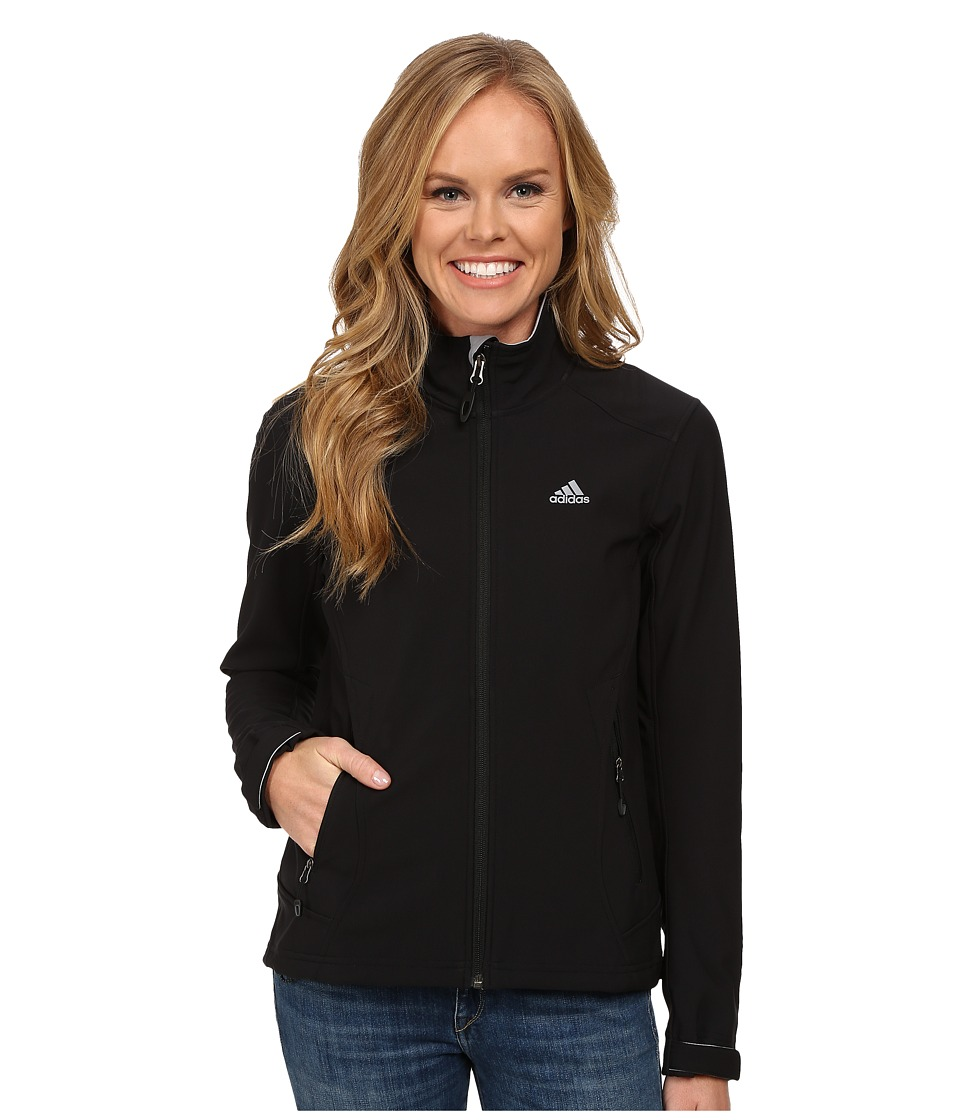 adidas Outdoor - Hiking Soft Shell Jacket (Black) Women's Jacket