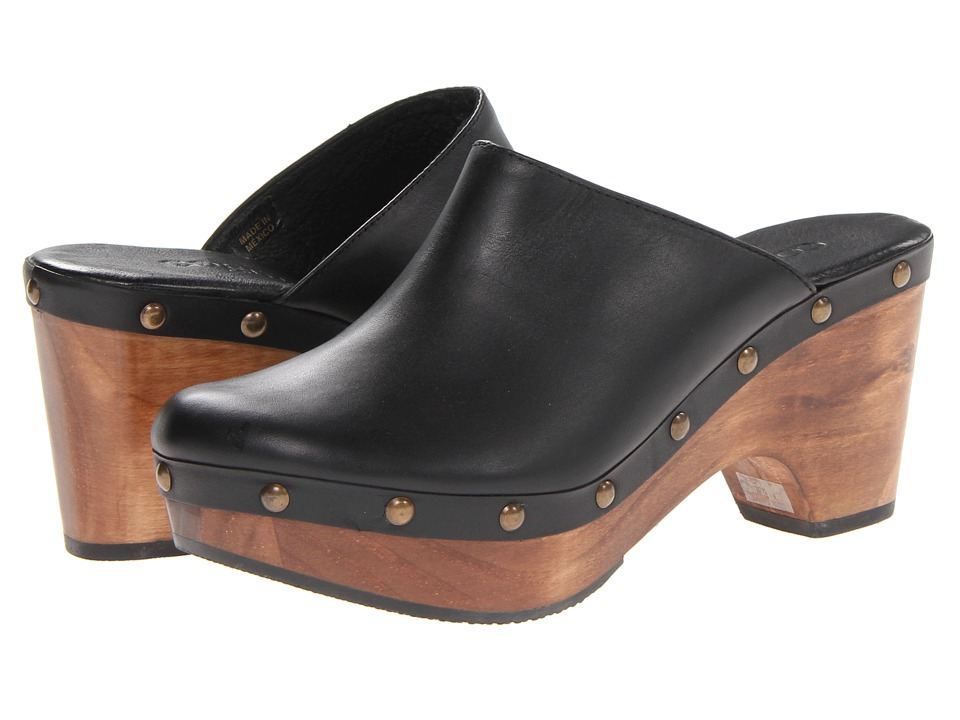 Cordani - Zorba (Black Leather) Women's Clog Shoes