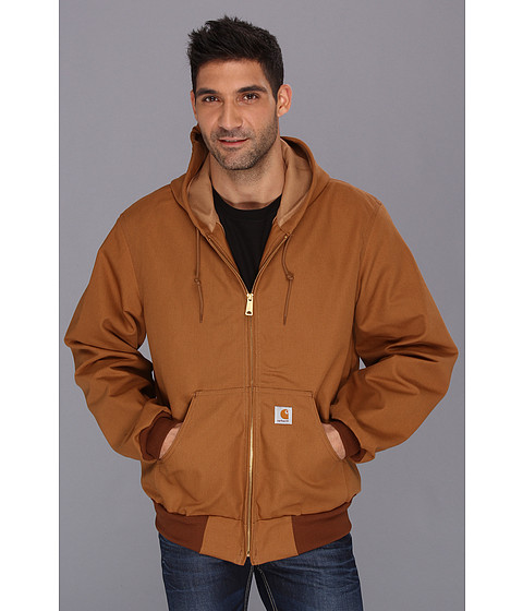 Carhartt - Thermal Lined Duck Active Jacket (Carhartt Brown) Men's Coat