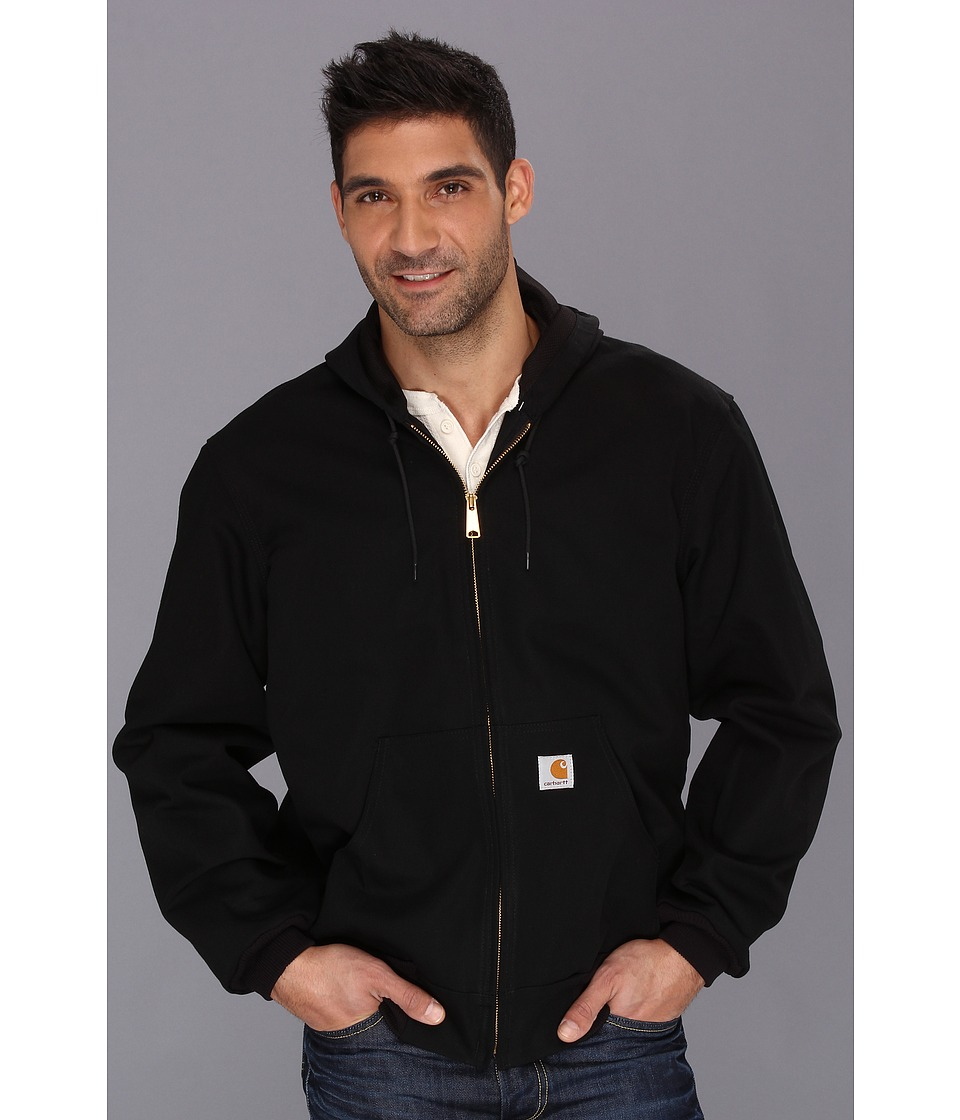 Carhartt - Thermal Lined Duck Active Jacket (Black) Men's Coat