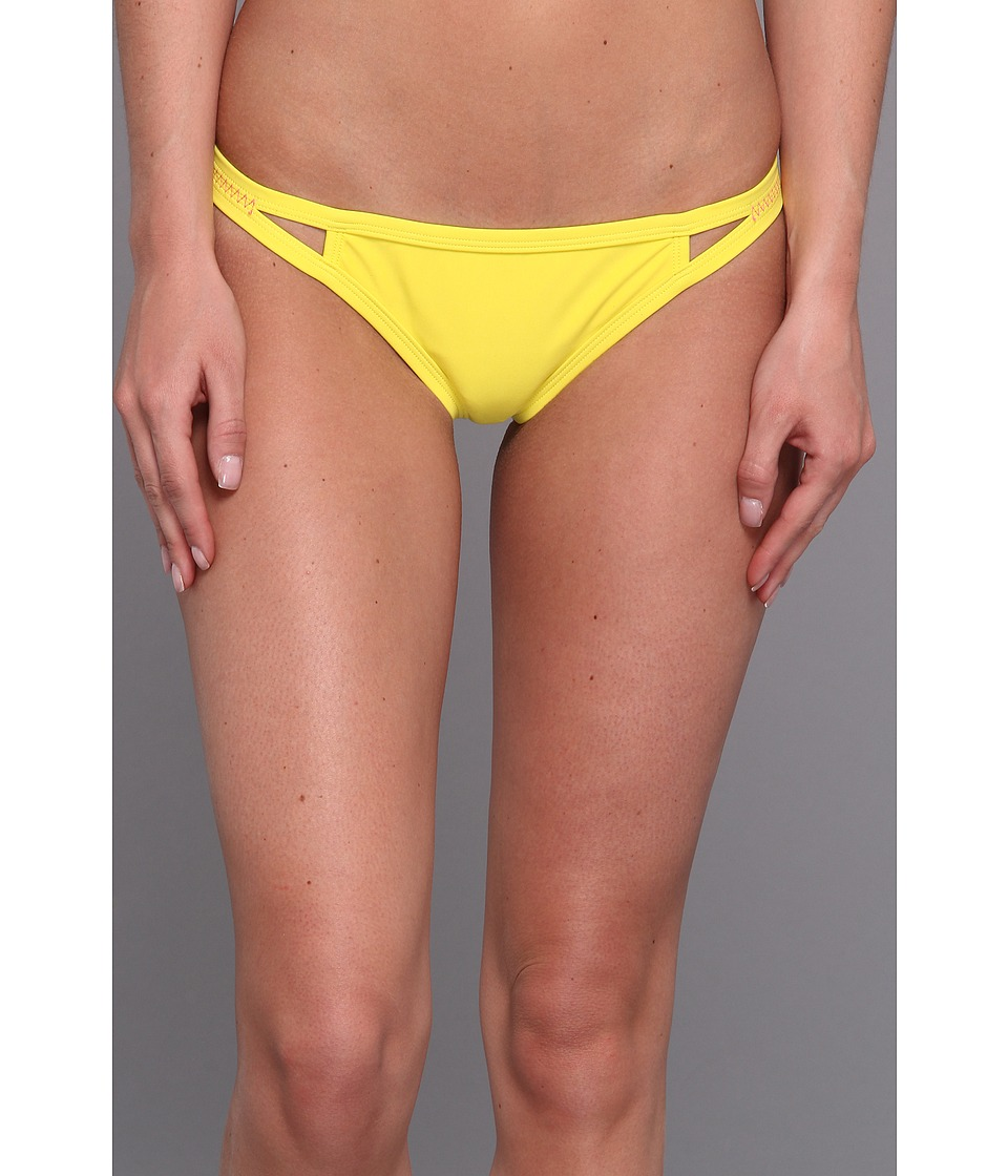 Roxy Outdoor - Flip Side Bikini Bottom (Blazing Yellow) Women's Swimwear