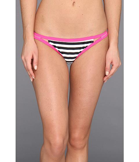 Roxy Outdoor - Flip Side Bikini Bottom (Sea Salt Stripe) Women