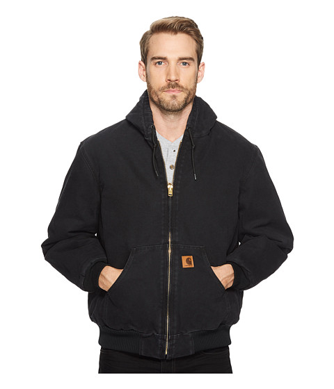 Carhartt - QFL Sandstone Active Jacket (Black) Men