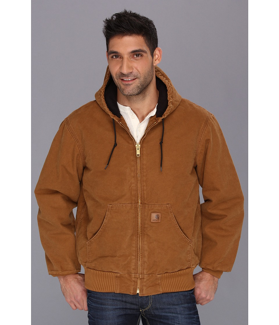 Carhartt - Big Tall QFL Sandstone Active Jacket (Carhartt Brown) Men's Jacket