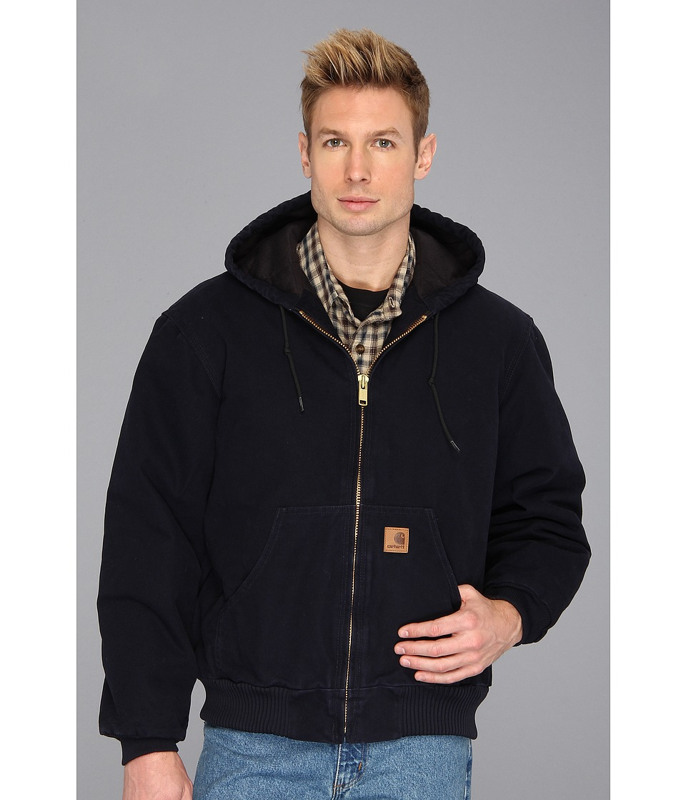 Carhartt - Big Tall QFL Sandstone Active Jacket (Midnight) Men's Jacket