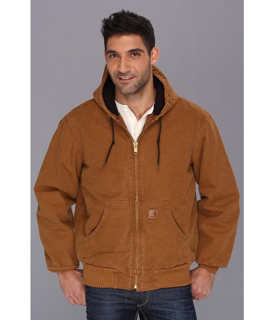 Carhartt - QFL Sandstone Active Jacket (Carhartt Brown) Men's Coat